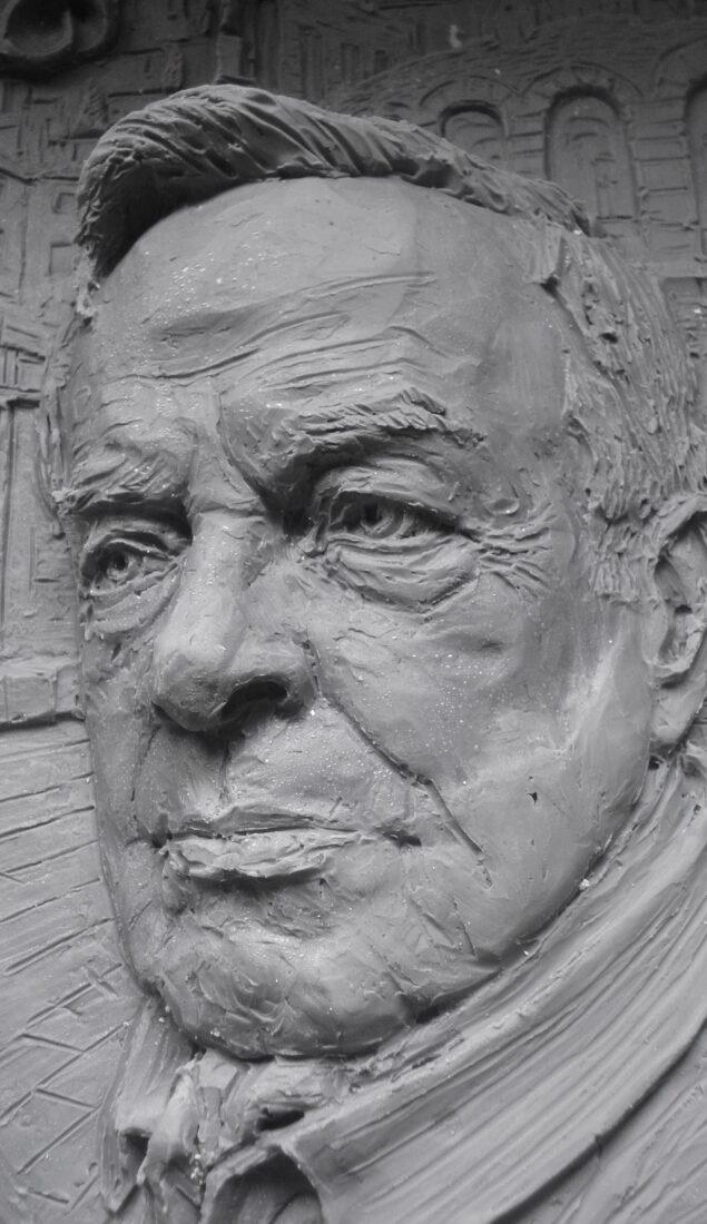 Ritratto scultoreo del Maestro Franco Zeffirelli