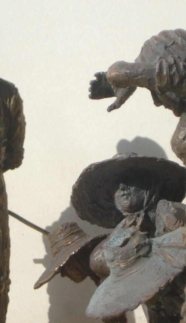 Scultura in bronzo – Le mondine di Isola della Scala