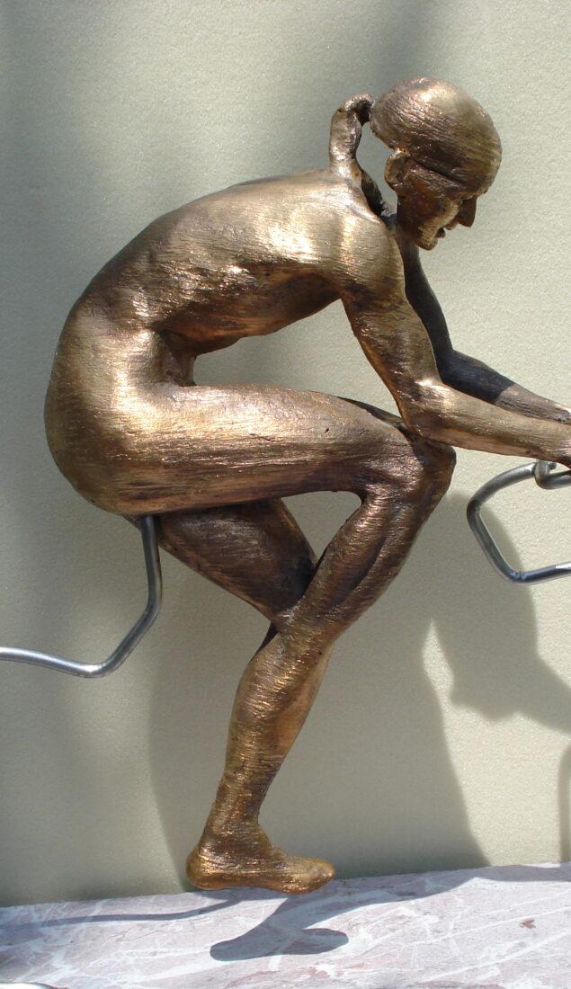 Scultura in bronzo – Monumento a Marco Pantani