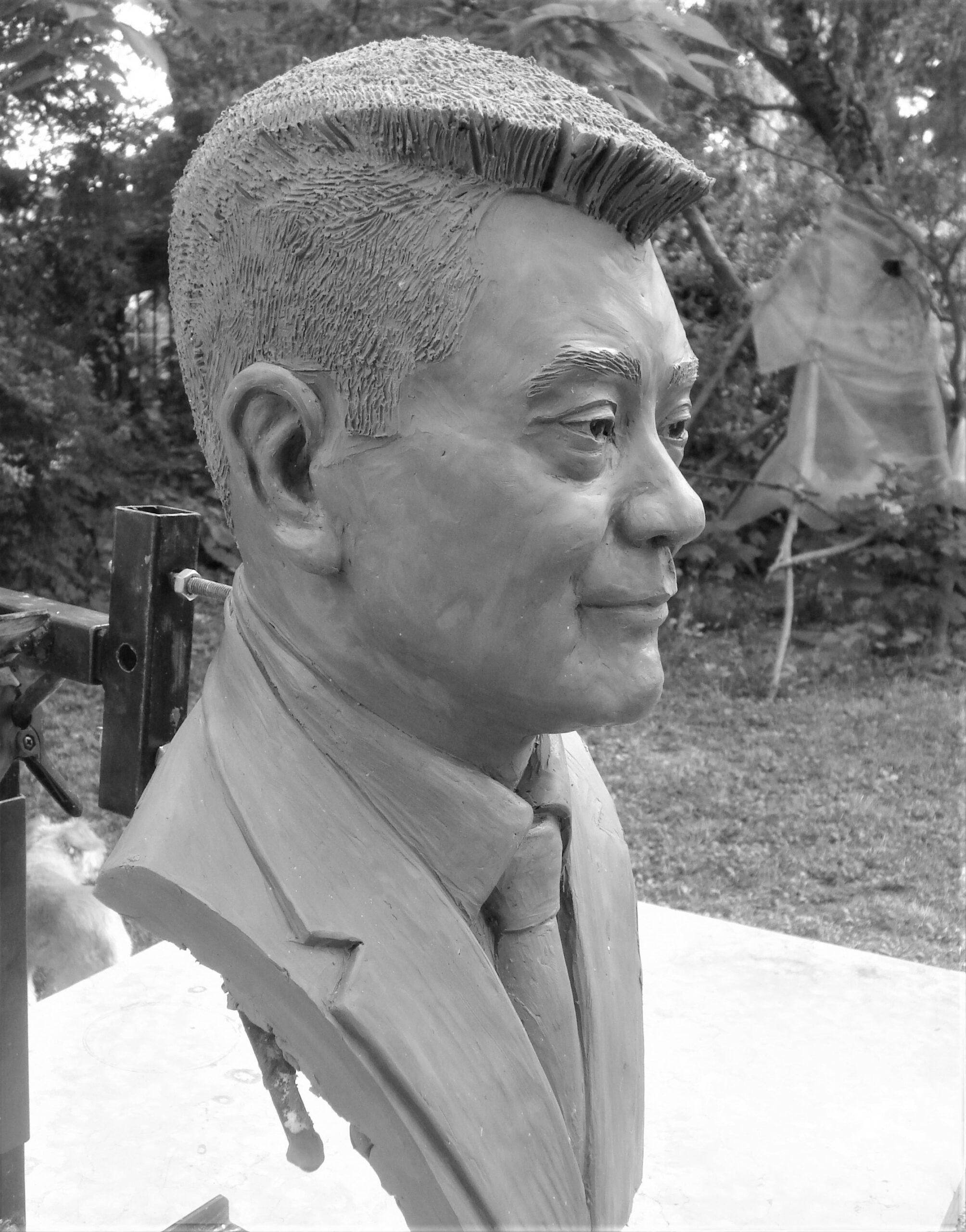 Ritratto scultoreo Mr. Ly An