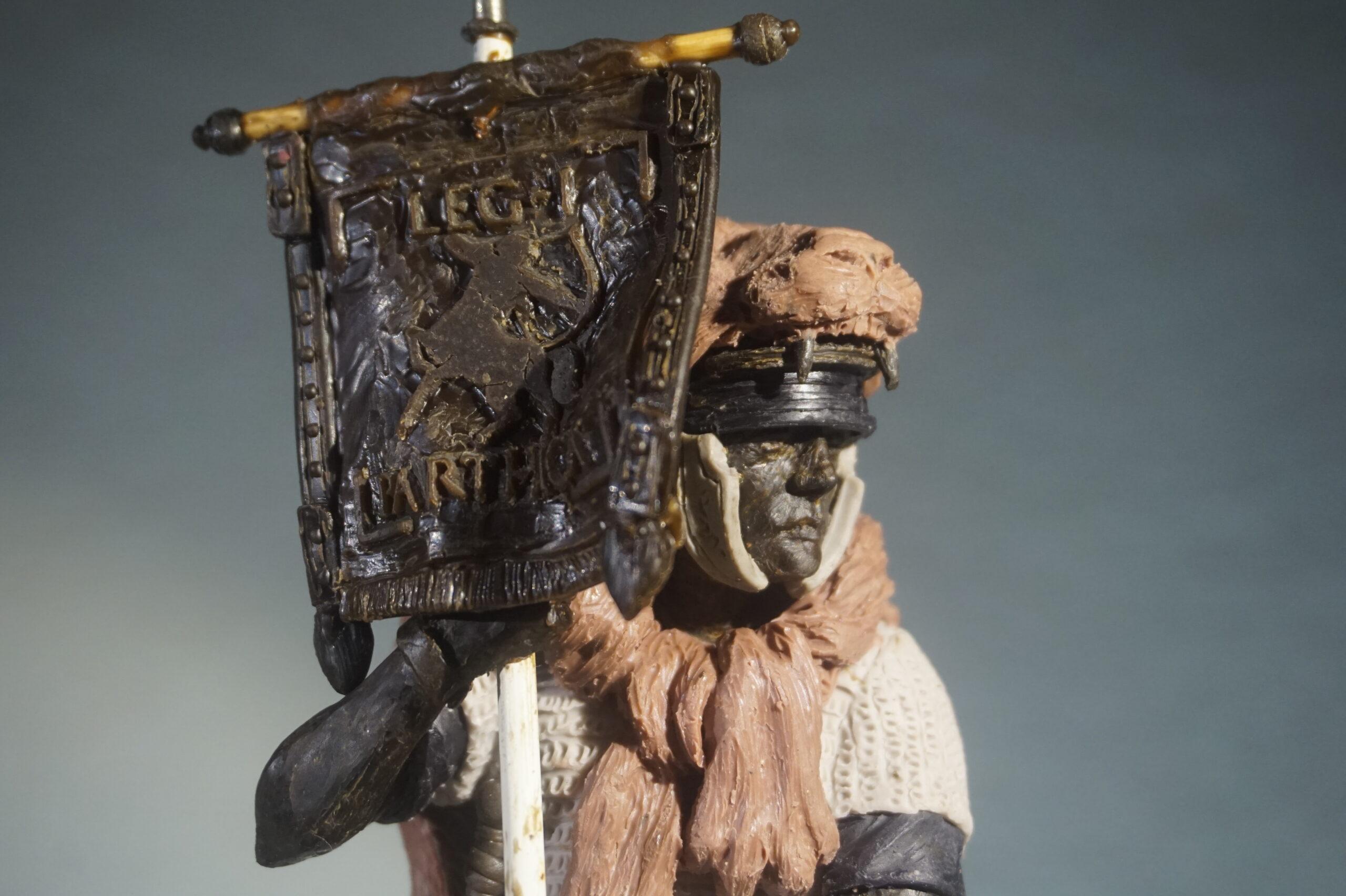 Soldato romano miniaturizzato